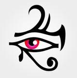 O olho de Horus ilustração do vetor