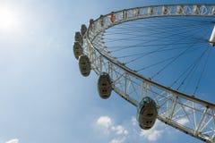 O olho de Londres Fotos de Stock Royalty Free