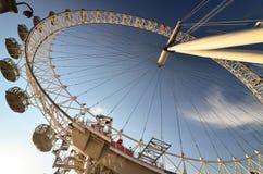 O olho de Londres, Londres, Reino Unido Fotos de Stock Royalty Free