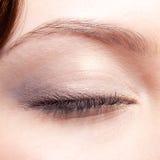 O olho fechado compo Imagens de Stock