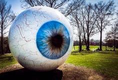 O olho - parque de Laumeier - Saint Louis, MO Imagens de Stock Royalty Free