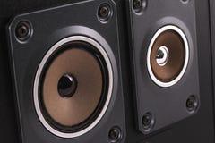 O orador da música para a qualidade agradável Imagem de Stock Royalty Free