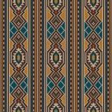 O ornamento sem emenda do teste padrão nas lãs fez malha a textura Ilustração do vetor imagens de stock royalty free