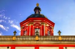 O Ossolineum ou o instituto nacional de Ossolinski em Wroclaw - Polônia imagem de stock royalty free