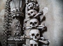 O Ossuary de Sedlec Fotos de Stock Royalty Free