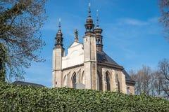 O Ossuary de Sedlec (Checo: Kostnice v Sedlci) em República Checa Foto de Stock