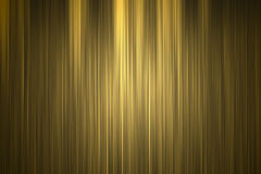 O ouro alinha o teste padrão Ilustração Stock