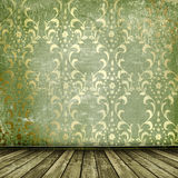 O ouro velho molda o estilo do Victorian Imagens de Stock