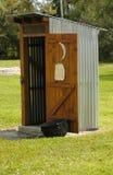 O Outhouse Imagens de Stock