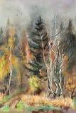 O outono adiantado ilustração royalty free