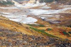 O outono colore o caldera imagens de stock