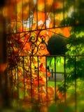 O outono em worden o parque Fotos de Stock Royalty Free