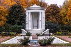 O outono no jardim de Neskuchny Imagem de Stock Royalty Free