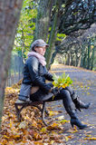 O outono relaxa Imagens de Stock