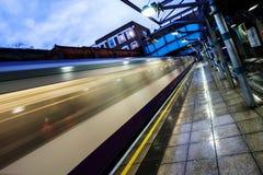O overground subterrâneo Imagens de Stock Royalty Free