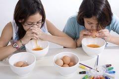 O ovo de Easter funde para fora Foto de Stock Royalty Free
