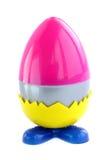 O ovo plástico Imagem de Stock Royalty Free