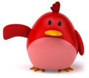 Pássaro vermelho ilustração stock