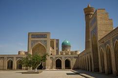 O pátio da mesquita Kalon Imagem de Stock Royalty Free