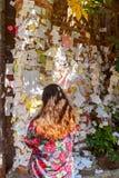 O pátio de Juliet verona Foto de Stock Royalty Free