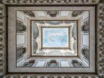 O pátio de las Munecas, Alcazar, Sevilha, Andalucia, Espanha Imagens de Stock Royalty Free
