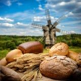 O pão fotografia de stock