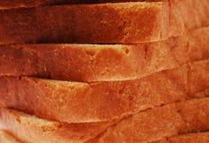 O pão corta o close up Foto de Stock