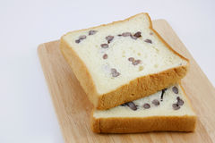 O pão cortado do feijão vermelho (2) Fotos de Stock Royalty Free