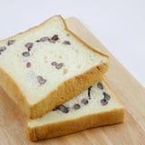 O pão cortado do feijão vermelho (3) Fotografia de Stock Royalty Free