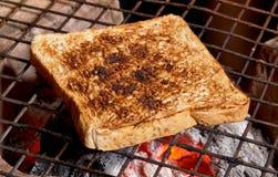 O pão da fatia coze Imagem de Stock Royalty Free