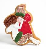 O pão-de-espécie do Natal endurece pelos carneiros do ano Imagem de Stock