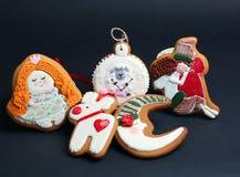 O pão-de-espécie do Natal endurece pelos carneiros do ano Imagem de Stock Royalty Free