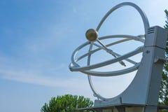 O pêndulo caótico, uma experiência física Cosmo Caixa, um sci foto de stock royalty free