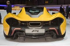 McLaren P1 - Exposição automóvel 2013 de Genebra Fotografia de Stock Royalty Free