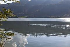 O paddler Imagem de Stock
