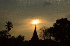 O pagoda antigo Imagens de Stock