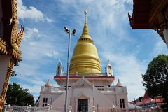 O pagoda budista Foto de Stock Royalty Free