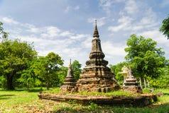 O pagoda velho Foto de Stock Royalty Free