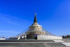 O pagode branco Imagens de Stock Royalty Free