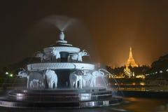 O pagode de Shwedagon Fotografia de Stock Royalty Free