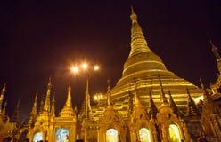 O pagode de Shwedagon, Yangon, Myanmar Foto de Stock Royalty Free