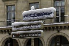 O painel de controle do sentido tem Paris imagens de stock