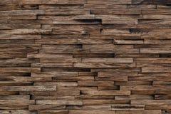 O painel de madeira ? feito a m?o decora??o bonita da parede fotografia de stock