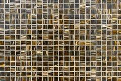 O painel decorativo do mosaico de uma máscara marrom fotos de stock