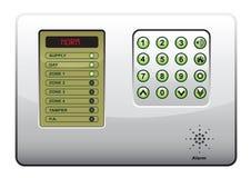 O painel do sistema de segurança Imagens de Stock Royalty Free