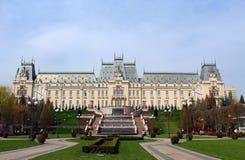 O palácio da cultura, Iasi, Romênia fotos de stock royalty free