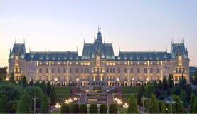 O palácio da cultura, Iasi, Romênia Fotos de Stock