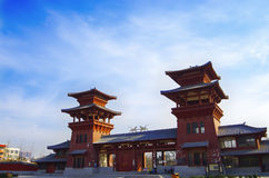 O palácio da dinastia de qin Imagens de Stock Royalty Free