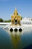 O palácio da dor do estrondo na província de Ayuthaya Foto de Stock