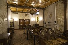 O palácio da mola de Ceausescu foto de stock